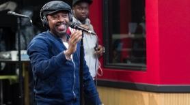 Anthony Hamilton performs in the Red Velvet Cake Studios.