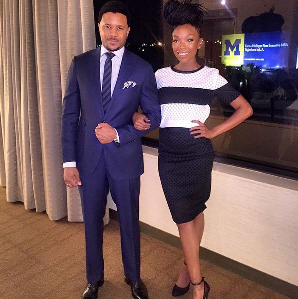 Brandy and Hosea Chanchez