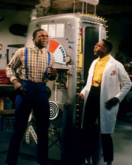 Eddie Winslow and Steve Urkel