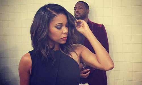 Gabrielle Union-Wade and Dwayne Wade