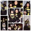 Lil Kim and Baby Reign as Bumble Bee's