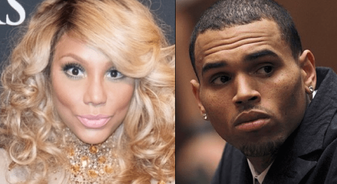 Tamar & Chris Brown went at it on Instagram after Chris felt attacked by comments from the talk show host on his relationships.