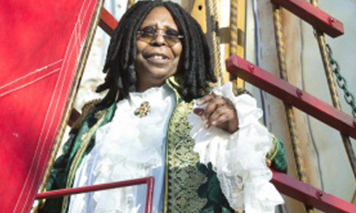 Whoopi's middle name is Elaine (her real name is actually Caryn)!
