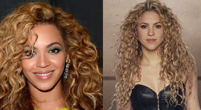 Beyonce and Shakira have long since looked like they could be distant cousins.