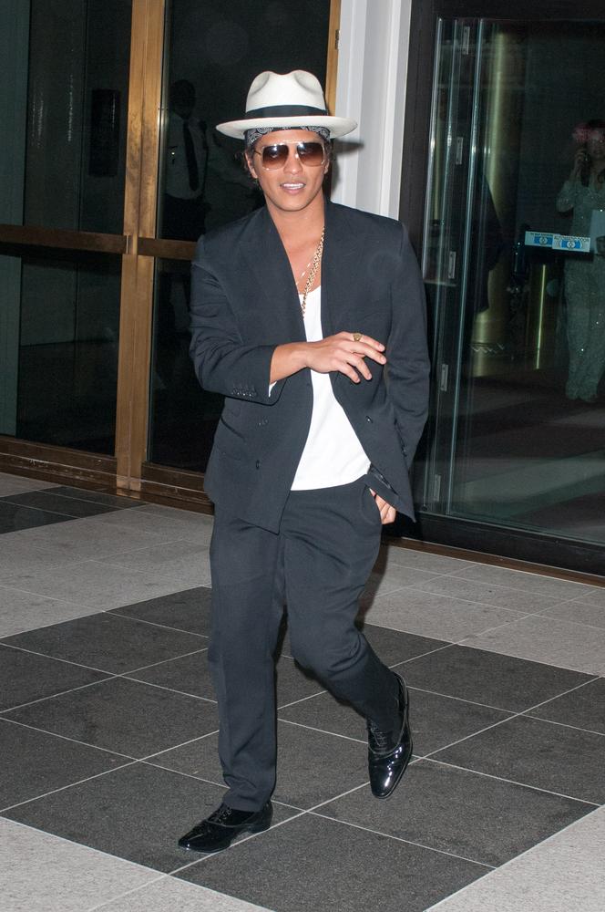 Bruno Mars was born Peter Hernandez