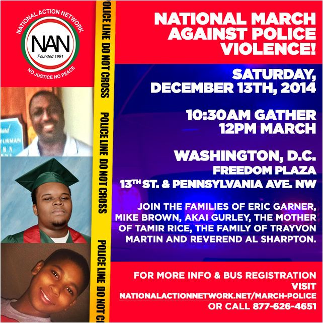 March against Police Violence flyer2 updated 12-8-14