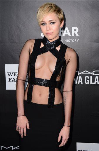 Miley Cyrus was born Destiny Hope Cyrus.