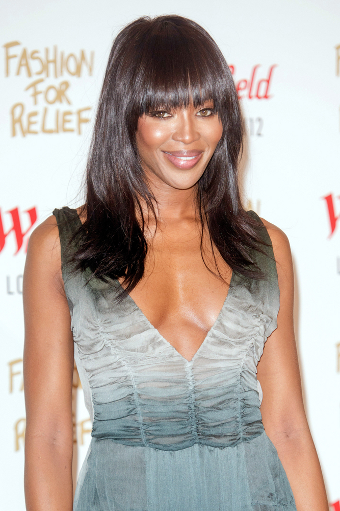 Supermodel Naomi Campbell: Jamaican with some Chinese ancestry