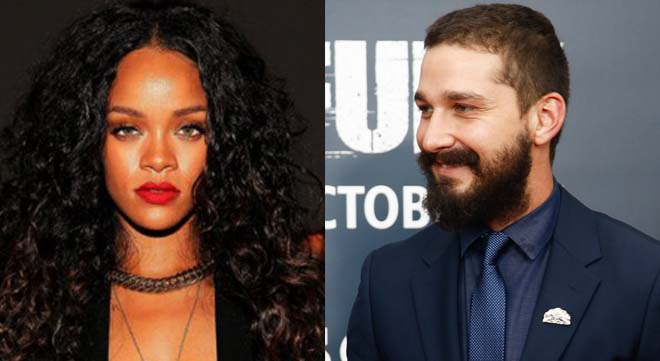 Rihanna and Shia LeBouf