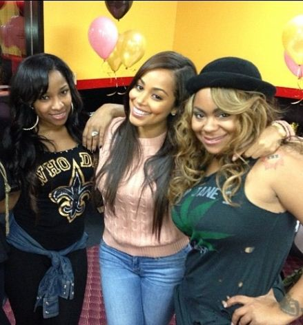 Toya Wright, Lauren London, Nivea and Sarah Vivian (not pictured)