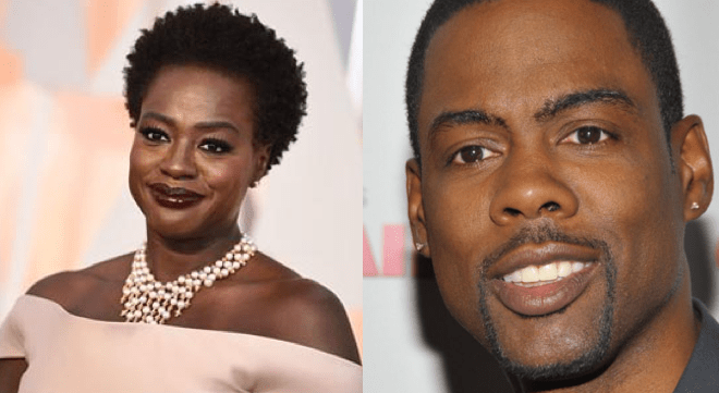 Viola Davis and Chris Rock were both born in 1965.