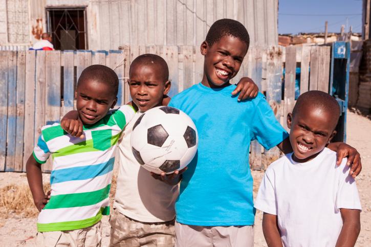 African Children Getty