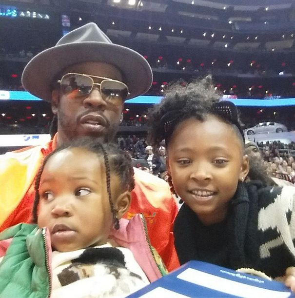 Heaven and her sister are the daughters of rapper 2Chainz