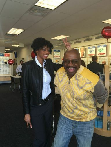 J. Anthony Brown at America's Best Grand Opening in the Westheimer Commons in Houston, TX.