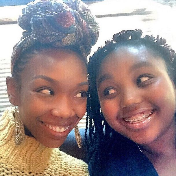Brandy and daughter Sy'rai
