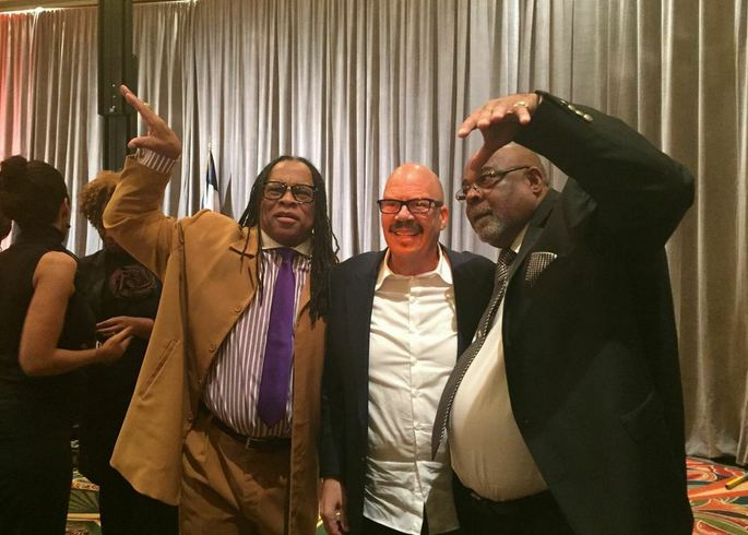 Tom Joyner at the North Houston Frontier's Club's Dr. Martin Luther King Jr.'s Memorial Breakfast.