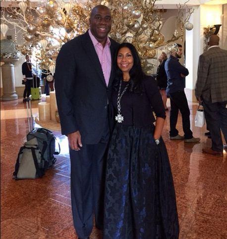 Happy 25th Wedding Anniversary: Magic & Cookie Through The Years