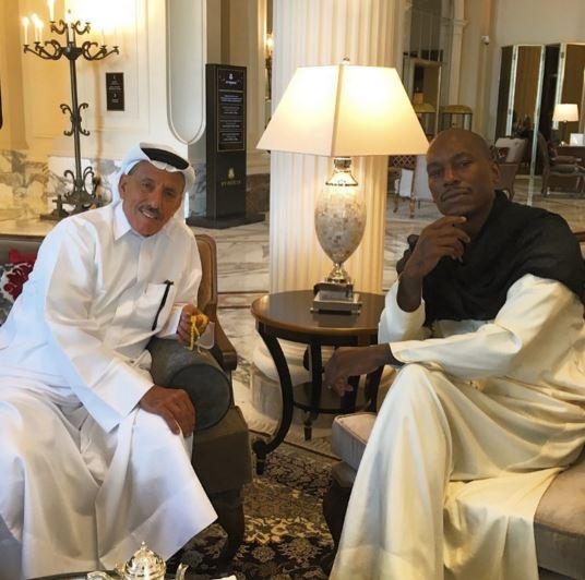 Tyrese in Dubai