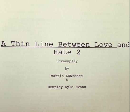 A thin Line Martin Lawrence