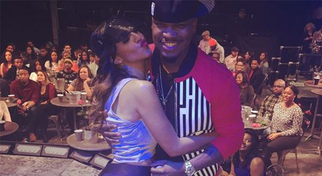 Neyo and his wife Crystal