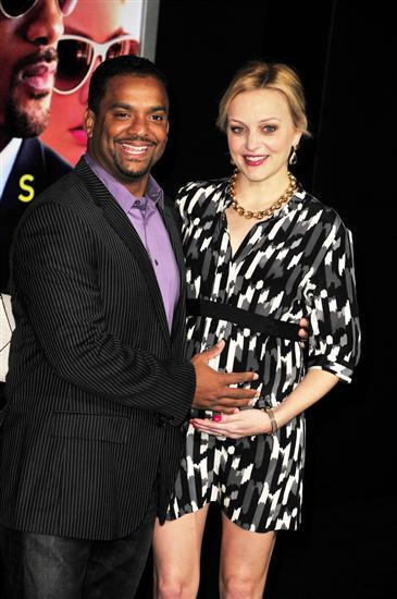 Alfonso Ribeiro and Wife