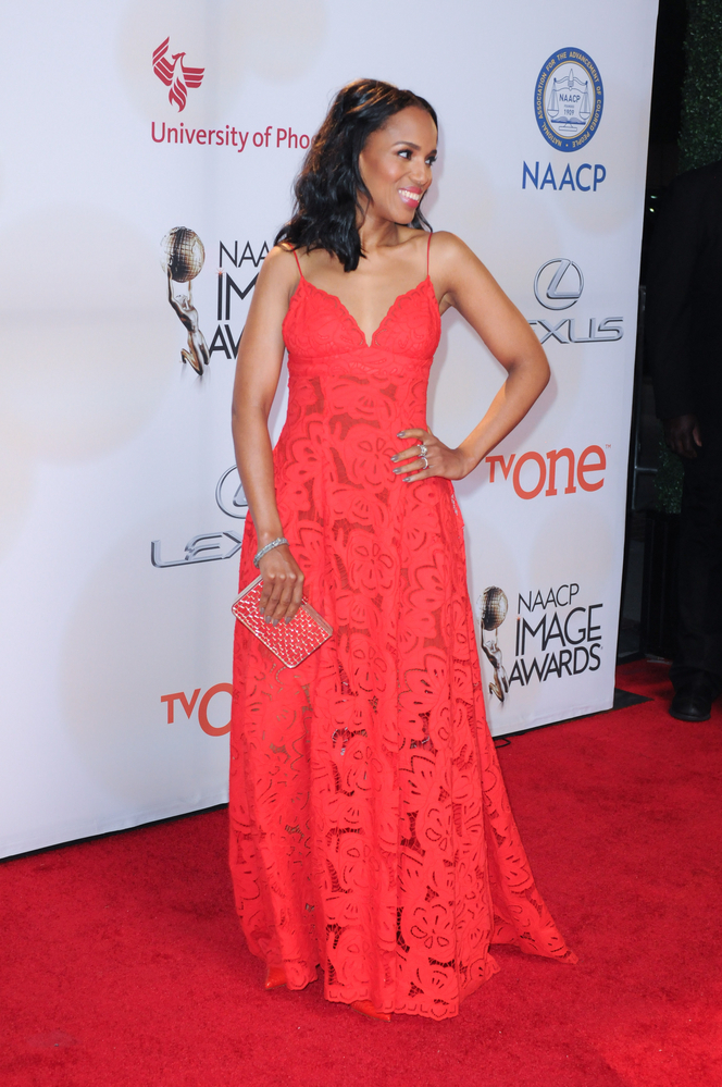 Can you guess Kerry Washington's middle name?