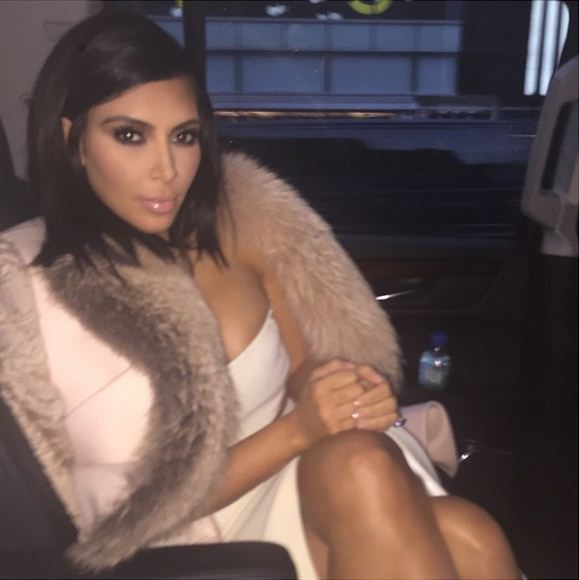 Kim Kardashian craves her Pinkberry yogurt and botox (just kidding about the botox).