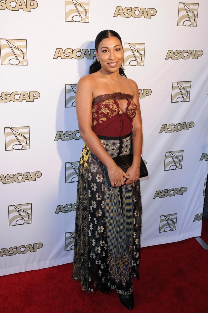 Melanie Fiona at the ASCAP Grammy Nominees Brunch