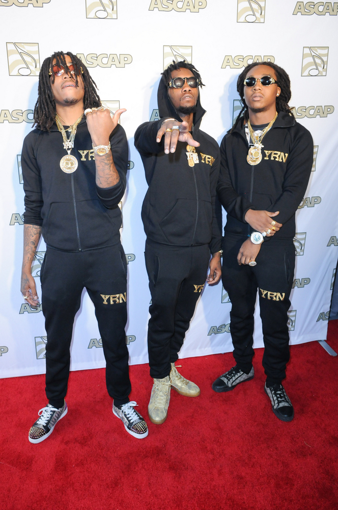Migos at the ASCAP Grammy Nominees Brunch