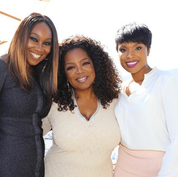 Yolanda Adams, Oprah, Jennifer Hudson