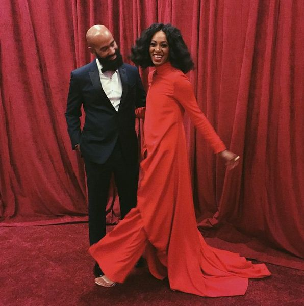 Solange and husband Alan Ferguson worked together on the blackest album of the year, A Seat At The Table