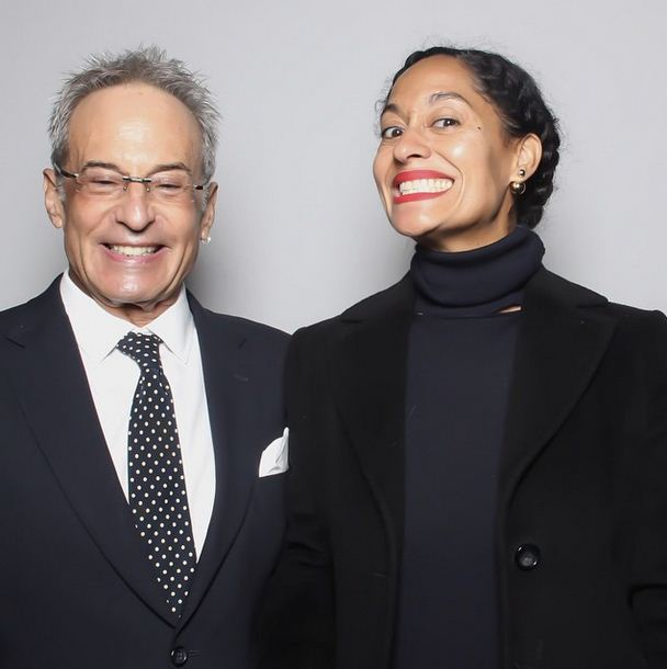 Tracee Ellis Ross & her Dad