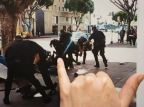 L.A. Police Say Homeless Man Killed Went For Cop's Gun