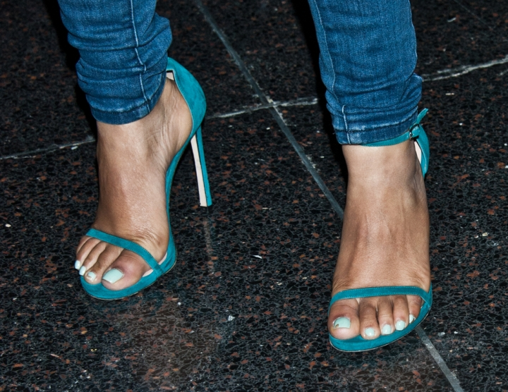 Whose dainty feet are these?