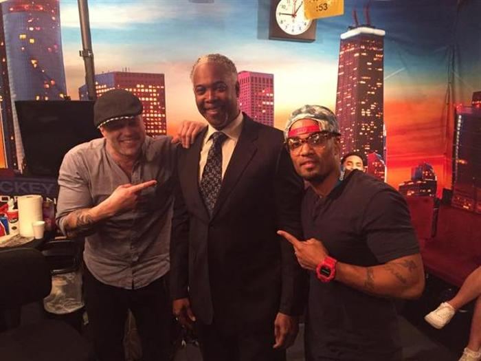 Willie with Wess Morgan and Bishop Dale C. Bronner