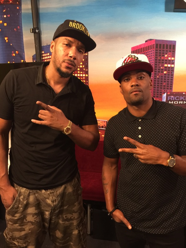 Lyfe Jennings and Willie Moore Jr.