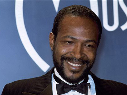 The late Marvin Gaye