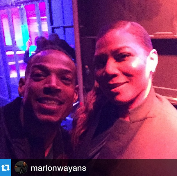 Queen Latifah, Marlon Wayans