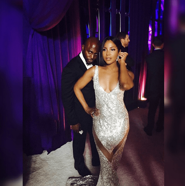 Taye Diggs and Toni Braxton