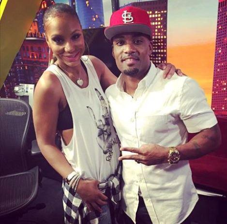 Tamar Braxton and Willie