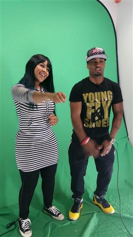 Erica Campbell and Willie