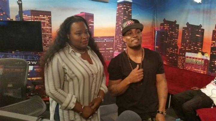 Willie Moore Jr. with gospel star Tasha Cobbs
