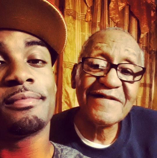 Willie and his dad Willie Moore Sr.