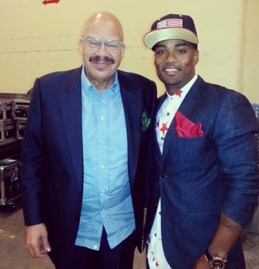 Willie and radio legend Tom Joyner
