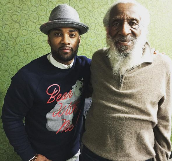 Dick Gregory and Willie Moore Jr.