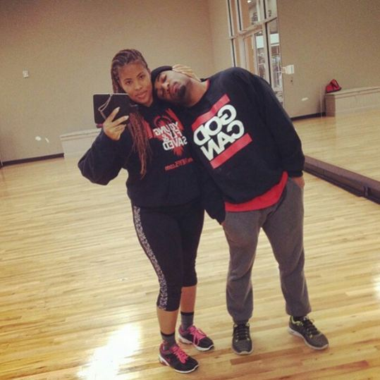 Willie and his wife get cute in athletic gear