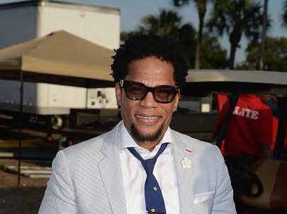 D.L. Hughley Hosts Jazz In The Gardens