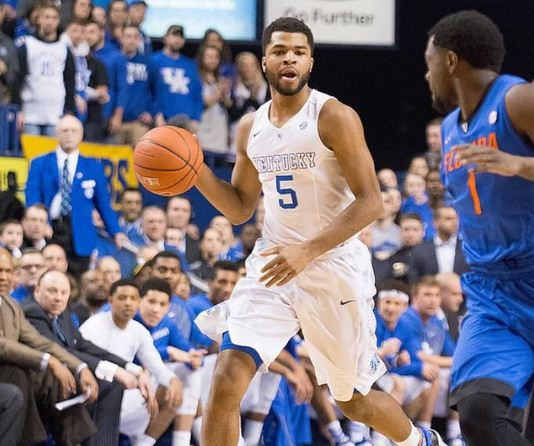 Kentucky's Andrew Harrison called a white player from the opposing team the n-word after losing during the Final Four