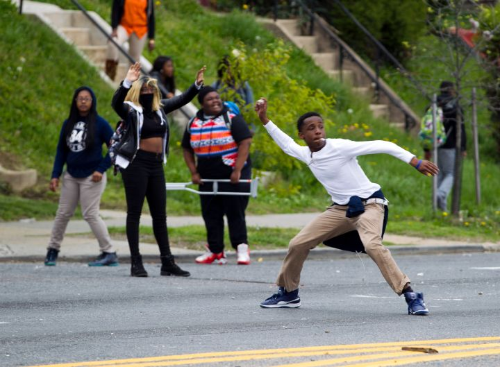 Images From Baltimore: #JusticeForFreddieGray