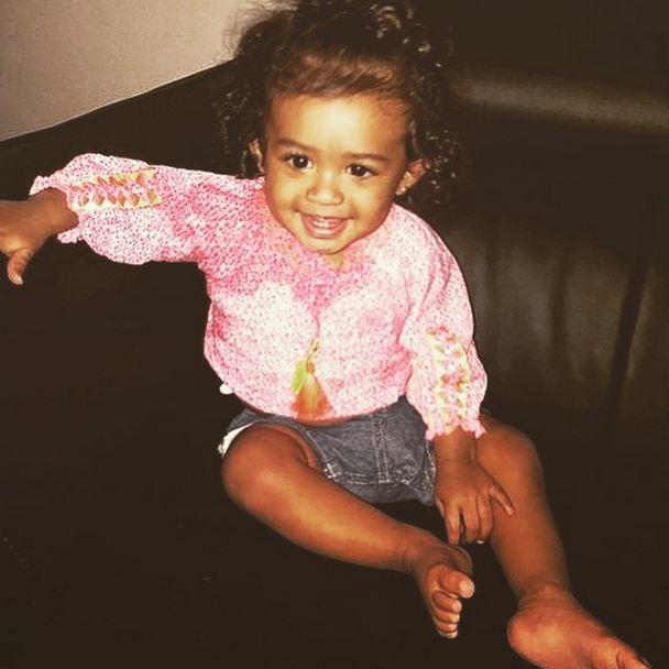 Chris Brown Shares More Photos of Daughter Royal [PHOTOS ...